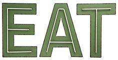 Creative Co-op Eat Metal (Set of 3 Styles) Wall Décor, Green Compass Wall Decor, Fish Wall Decor, Flower Wall Decor, Metal Wall Decor, Room Signs, Wall Signs, Angel Wings Wall Decor, Wall Mount Mailbox, Medallion Wall Decor