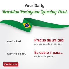 Greet your new friends with these Brazilian Portuguese learning treats wearing your biggest smile. Portuguese Phrases, Portuguese Lessons, Portuguese Language, Learn Brazilian Portuguese, French People, French Class, Learn A New Language, Training Center, Getting To Know You