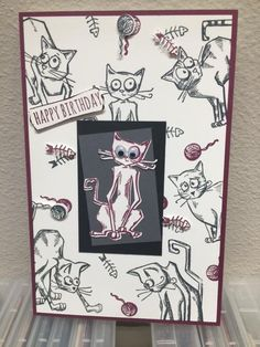 CraZy Cat Lady by whitetigers - Cards and Paper Crafts at Splitcoaststampers