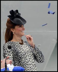 Kate Middleton Photos Photos - Kate Middleton attends the Princess Cruise ship…