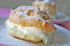Cream Puffs from The BakerMama - Gold Medal Blog
