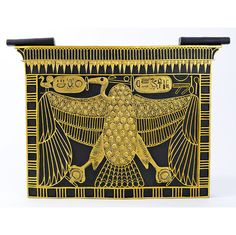 Nekhbet Cartouche Wall Sculpture, 17th Dynasty : Nekhebet is the Vulture god. Vultures protect their young by spreading their wings around the chics. Nekhebet protects the pharoahs and pregnant women and especially those in labour.