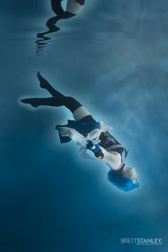 Underwater Cosplay Aqua Kingdom Hearts by Silhouette d'Amour