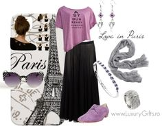 """Love in Paris"" by diana-luxurygifts on Polyvore"