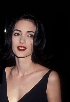 Winona Ryder at the 48th Annual Golden Globe...