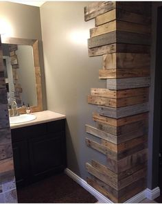 Here you are currently viewing the result of 10 DIY Pallet Furniture Ideas. You can be see here the ideas of 10 DIY Pallet Furniture. 10 DIY Pallet Furniture Ideas are so interesting. You can be use the DIY Pallet Furniture Ideas in creating somethin House Design, New Homes, Rustic House, Rustic Home Decor, Home Remodeling, Diy Home Decor, Home Diy, Rock Decor, Wooden Pallet Beds