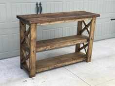 DIY furniture plans and tutorials for creating rustic furniture. DIY plans and woodworking plans include instructions on how to build DIY desks, farmhouse coffee tables, bedroom furniture, DIY kid builds, home improvement projects and much more. Wood Pallet Furniture, Farmhouse Furniture, Woodworking Furniture, Furniture Projects, Diy Woodworking, Furniture Plans, Rustic Furniture, Modern Furniture, Furniture Design
