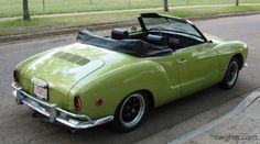 1968 VW Karmann Ghia Restoration