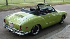 1968 VW Karmann Ghia Restoration