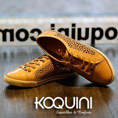 Além de lindo, mega confortável nos pés #koquini #sapatilhas #euquero #wirth Compre Online: http://koqu.in/1NYx3u5