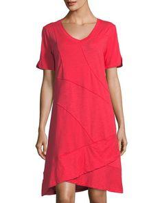 e1b4f24b40d TVV56 Neon Buddha Seaside Cotton Dress Pretty Little