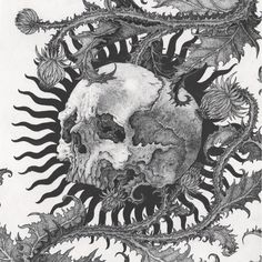 Ivan Meshkov's Drawings Implement Medieval Imagery, Tattoo Culture