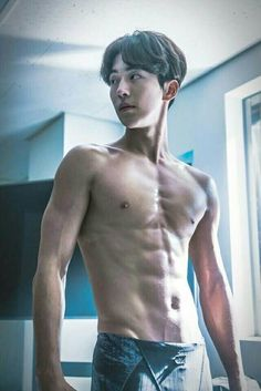 So those poppin' veins are trying to get my attention. It's successful tho. Nam Joo Hyuk Abs, Nam Joo Hyuk Lee Sung Kyung, Lee Jae Yoon, Lee Jong Suk, Park Hae Jin, Park Hyung, Park Seo Joon, Asian Actors, Korean Actors
