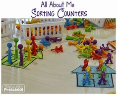 Play to Learn Preschool: All About Me Counters