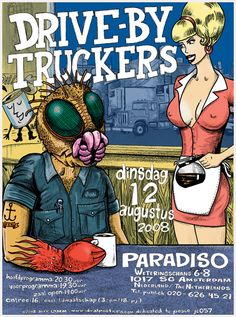 GigPosters.com - Drive By Truckers