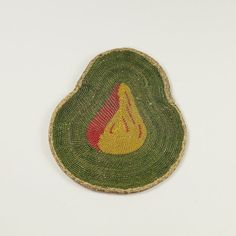 18th Century Purse Sweet Bag Pear Shape Circa 1720 Museum Quality