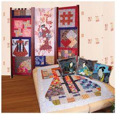 дизайн+текстиль: Лоскутное шитье в интерьере