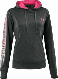 "Under Armour® Women's ""She's a Fighter™"" Hoodie.....so going to get this"