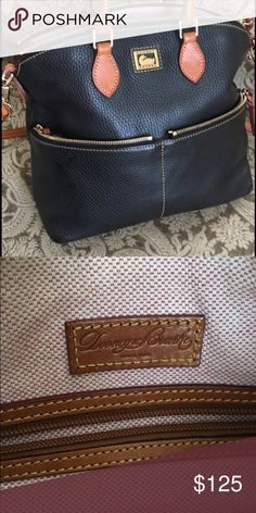 Dooney and Bourke Purse Authentic, EUC black leather purse. Timeless look. Dooney & Bourke Bags Crossbody Bags