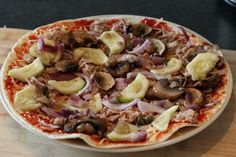 Eenvoudige wrap pizza maken eetclean.nl