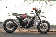 "'91 Yamaha Xtz750 ""Katarina"" Scrambler by MotoRè"