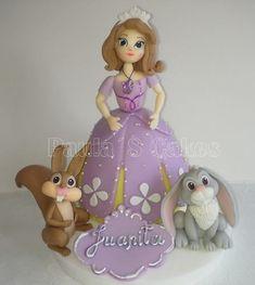 conejo de la princesa sofia en porcelana fria - Buscar con Google