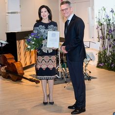 Crown Princess Mary was awarded with the Berlingske Foundation Award of Honour in Copenhagen. The Danish royal received the Berlingske Honorary Award because of her work with the vulnerable and less fortunate.