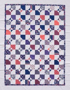Linda's Cutting Corners quilt from The Big Book of Patchwork