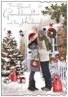 Christmas Couple, Christmas Scenes, Cozy Christmas, Christmas Pictures, Vintage Christmas, Christmas Sketch, Christmas Artwork, Christmas Drawing, Illustration Noel