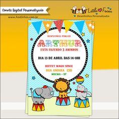 Convite Festa Circo Digital