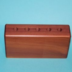 Handmade Cedar Wood Pencil Holder for Sale, Wooden Pen Holder, Aftcra H2