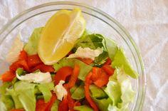 Salada com Pimentão Defumado