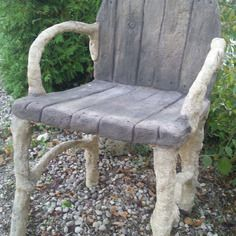 Faux Bois Furniture | The Pieces Below Are Available For Immediate  Purchase. Call (210) 472 ... | Faux Bois | Pinterest | Faux Bois, Concrete  And Cement