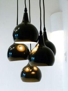Design-Kaskadenlampe-Tropfen-Leuchte-5-Kugellampen-schwarz-Panton-Design-TOP