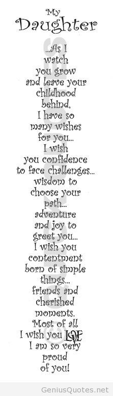 For my beautiful girl who has been through so much loss but is even more gracious and thoughtful than before,your growing into a lovely kind young lady and I wish only the best and amazing things for you tiegy xxxx