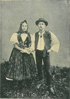 Folk costume - Wallachia (Valašsko - Valašská Polanka), Czech Republic
