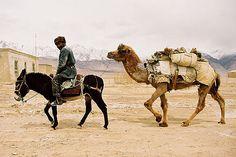 https://flic.kr/p/nxiVJ | Tadjik overtaking | Full speed, coming back from the Pakistanese border (China, Xinjiang, Karakoram, May 2005)