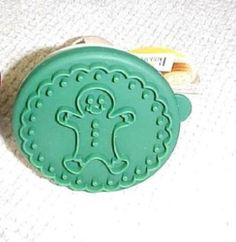 "Birkmann Cookie Stamp Gingerbread Boy 3"" Across New Christmas 
