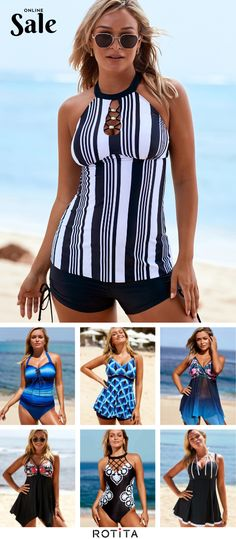 Get a hot wardrobe from Rotita.Unique prints and standout details will add instant fright to your look.With new styles added each morning,you will discover fabulous finds for you,your family,&your Cool Outfits, Summer Outfits, Fashion Outfits, Womens Fashion, Bikini For Women, Beachwear Fashion, Swimsuits, Swimwear, Summer Wear