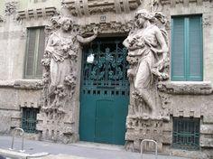 La Casa Campanini, ejemplo de Art Noveau - http://www.absolut-milan.com/la-casa-campanini-ejemplo-de-art-noveau/