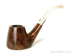 GBD Estate Pipe Collector Seventy Six 3/4 Bent Smooth Volcano Sitter
