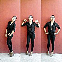 caras #negro