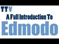 A complete tutorial on how to use Edmodo in your teaching.  Edmodo is a free virtual learning environment where students get to learn collaboratively.