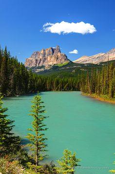 "500px / Photo ""Castle Mountain"" Alberta Canada by Carlos D. Ramirez"