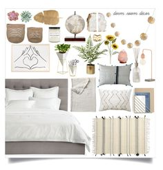 """""""Dorm Room Decor"""" by lilymadelyn ❤ liked on Polyvore featuring interior, interiors, interior design, home, home decor, interior decorating, Avery, PBteen, Pier 1 Imports and Serena & Lily"""