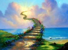 Stairway to Heaven Fantasy art for sale at Toperfect gallery. Buy the Stairway to Heaven Fantasy oil painting in Factory Price. Stairway To Heaven, Led Zeppelin, 12 Laws Of Karma, Jim Warren, Soul Contract, Affirmations Positives, Paint By Number Kits, Surrealism Painting, Cross Paintings