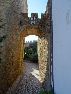 Passeando dentro das muralhas- Vila de Óbidos