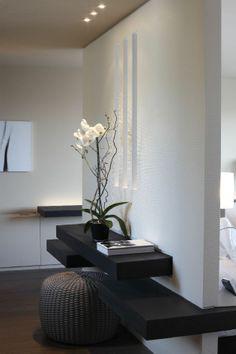 ♂ Minimalist contemporary interior design black & white