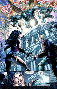 Justice League #3 by Jim Lee