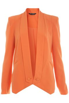 Colorful, Affordable Work Outfits- Bright Blazers And Pencil Skirts